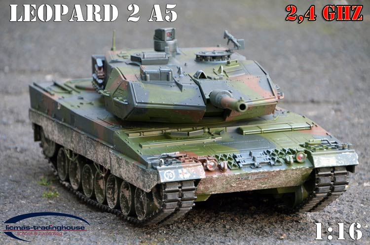 rc panzer leopard 2 a5 bundeswehr rtr 2 4 ghz 1 16 carson licmas tank ebay. Black Bedroom Furniture Sets. Home Design Ideas