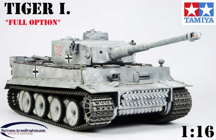 rc panzer tiger 1 full option tamiya 1 16 tank 56010 eur. Black Bedroom Furniture Sets. Home Design Ideas